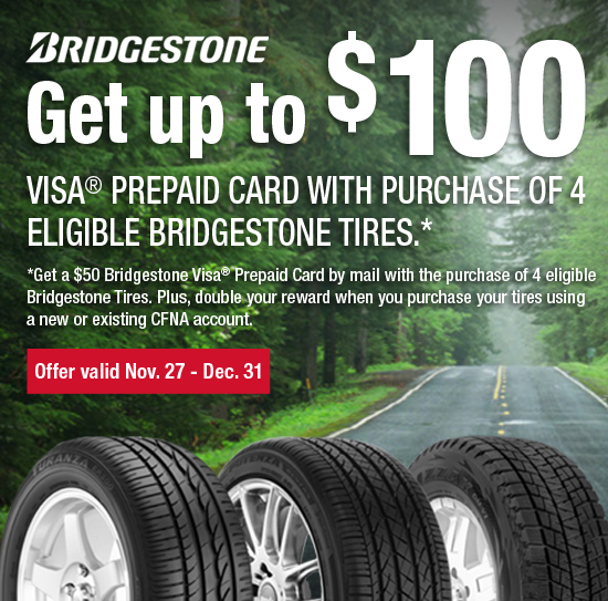 Bridgestone Holiday Savings | Kost Tire and Auto – Tires and Auto Service – Pennsylvania and New ...