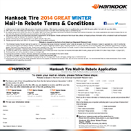 Hankook Great Winter Rebate | Big E Tire – Tires and Auto Service ...