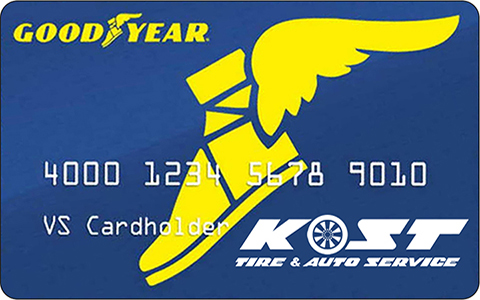 Credit Kost Tire And Auto Tires And Auto Service Pennsylvania