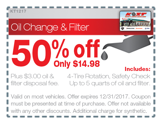 Firestone Tires Near Me >> Thank You | Kost Tire and Auto – Tires and Auto Service ...