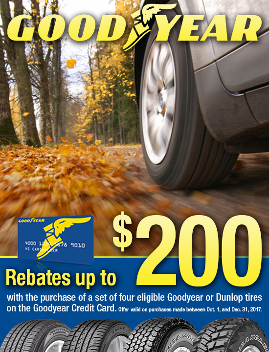 Kost Tire Goodyear Rebate | Kost Tire and Auto – Tires and Auto ...