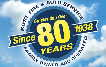 Store Search Mr Tire Auto Service Centers >> Kost Tire And Auto Tires And Auto Service Pennsylvania And New